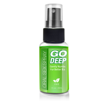 GO DEEP ORAL SEX SPRAY MINT 1 OZ