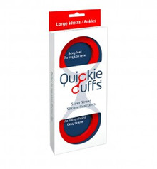 QUICKIE CUFFS RED LARGE