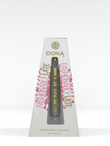 DONA ROLL ON PERFUME FASHIONABLY LATE .34 OZ