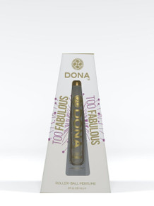DONA ROLL-ON PERFUME TOO FABULOUS 0.34 OZ