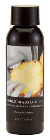 MASSAGE OIL EDIBLE PINEAPPLE 2OZ