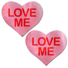PASTEASE LIQUID PINK HEART LOVE ME