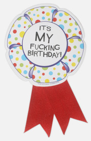 X RATED BIRTHDAY RIBBON