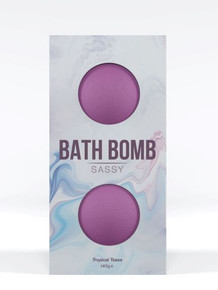 DONA BATH BOMB SASSY TROPICAL TEASE 140G