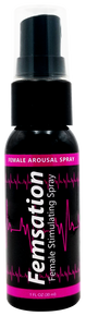 FEMSATION FEMALE STIMULATING SPRAY 1OZ BOTTLE