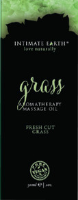 INTIMATE EARTH GRASS MASSAGE OIL FOIL SACHET 1OZ | IE048F | [category_name]
