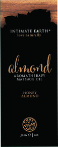 INTIMATE EARTH ALMOND MASSAGE OIL FOIL SACHET 1OZ