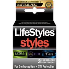 LIFESTYLES STYLES SENSITIVE 3PK | R9903 | [category_name]