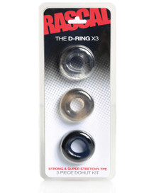 RASCAL THE D-RING 3PK