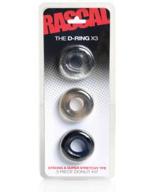 RASCAL THE D-RING 3PK  | CHART10000 | [category_name]
