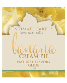 INTIMATE EARTH BANANA CREAM PIE GLIDE FOIL PACK 3ml (EACHES)