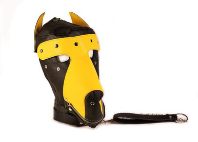 BASIC PUPPY PLAY KIT 2 TONE BLACK/YELLOW MASK TAIL MITTS CARRY PACK | TDSKPP2 | [category_name]