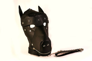 (SPECIAL ORDER) BASIC PUPPY PLAY KIT BLACK MASK TAIL MITTS CARRY PACK | TDSKPPB | [category_name]