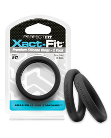 PERFECT FIT XACT-FIT #17 2 PK BLACK  | PERCR80B | [category_name]