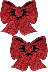 PASTEASE HOLOGRAPHIC RED BOWS  | PASBOWHOLRDBK | [category_name]