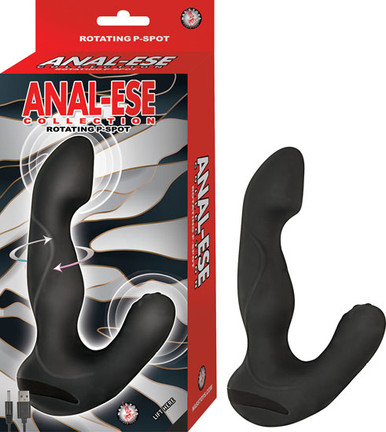 ANAL ESE COLLECTION ROTATING P SPOT VIBE BLACK  | NW2880 | [category_name]
