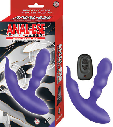 ANAL ESE COLLECTION REMOTE CONTROL P SPOT STIMULATOR PURPLE   NW29012   [category_name]