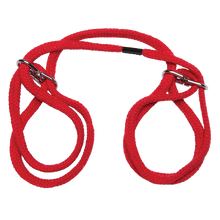 JAPANESE STYLE COTTON WRIST CUFFS RED  | DJ210305 | [category_name]