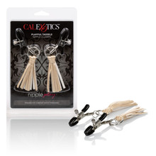 NIPPLE PLAY PLAYFUL TASSELS NIPPLE CLAMPS GOLD  | SE261415 | [category_name]