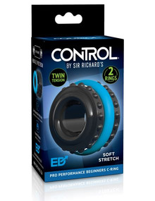 SIR RICHARD'S CONTROL PRO PERFORMANCE BEGINNERS C-RING BLUE   PDSR1068   [category_name]