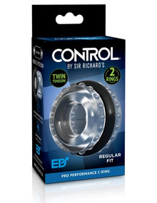 SIR RICHARD'S CONTROL PRO PERFORMANCE C-RING BLACK    PDSR1070   [category_name]