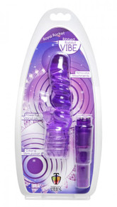 TRINITY VIBES ROYAL ROCKET RIBBED RABBIT VIBE