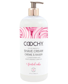 COOCHY SHAVE CREAM FROSTED CAKE 32 OZ  | CE100332 | [category_name]