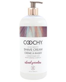 COOCHY SHAVE CREAM ISLAND PARADISE 32 OZ  | CE100532 | [category_name]