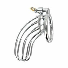 STAINLESS STEEL CHASTITY DEVICE THE BIRDCAGE