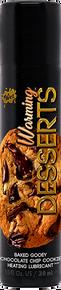 WET WARMING DESSERTS BAKED GOOEY CHOCOLATE CHIP COOKIE 1 OZ