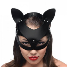 BAD KITTEN LEATHER CAT MASK