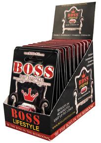 BOSS MALE ENHANCEMENT PILL POP BOX 20 PC DISPLAY DISPLAY