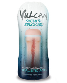 CYBERSKIN H2O VULCAN SHOWER STROKER REALISTIC (OUT MID JUL