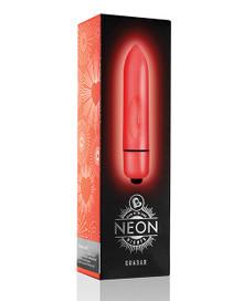 NEON NIGHTS GLOW-IN-THE-DARK RED QUASAR 7 SPEED BULLET