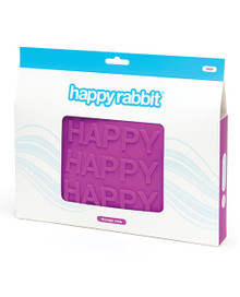 HAPPY RABBIT HAPPY LARGE PURPLE SILICONE ZIP STORAGE BAG