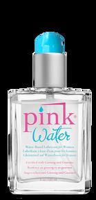 PINK WATER 4 OZ GLASS BOTTLE W/ PUMP
