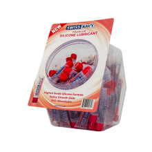 SWISS NAVY SILICONE BASED 100 CT DISPLAY 10 ML  | SNSL10ML100 | [category_name]
