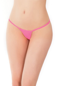 G STRING NEON PINK O/S    CQ100PNK   [category_name]
