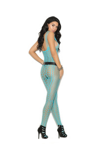 CROCHET POTHOLE BODYSTOCKING