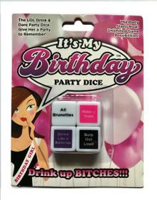 IT'S MY BIRTHDAY DICE