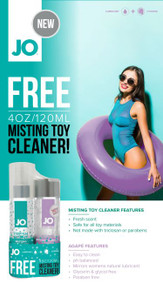 JO GWP AGAPE & MISTING TOY CLEANER 2X 4 FL OZ