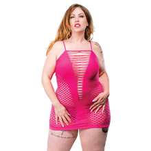 NAUGHTY GIRL DEEP V PINK Q/S (NET)