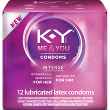 KY INTENSE LUBRICATED 12 CT
