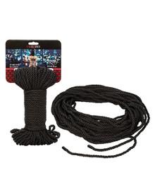 SCANDAL BDSM ROPE 30M/98.5 FT BLACK