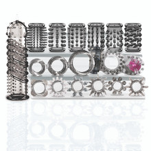 TRY-CURIOUS COCK RING & SLEEVE SET