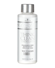 THINK CLEAN THOUGHTS TOY POWDER 2 OZ BOTTLE