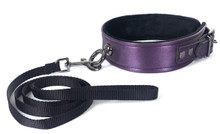 COLLAR & LEASH- GALAXY LEGEND PURPLE