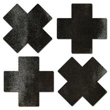 PASTEASE PETITE PLUS X SMALL LIQUID BLACK CROSS 2 PAIRS