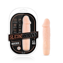 SILICONE WILLY'S MAVERICK 6.25 VIBRATING DILDO VANILLA