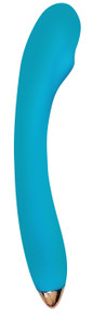 CLOUD 9 HEALTH & WELLNESS RECHARGEABLE G-SPOT SLIM 8IN SINGLE MOTOR AQUA BLUE